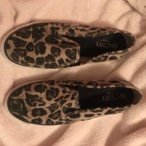 Leopard Print Sperrys!